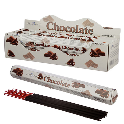 Stamford Hex Incense Sticks - Chocolate Novelty Gift