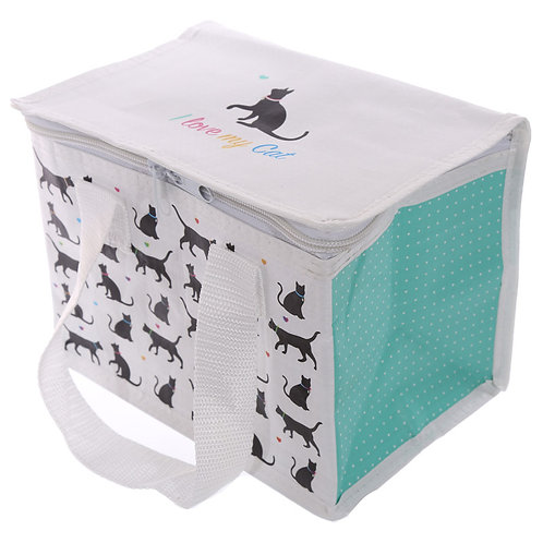 I Love My Cat Design Lunch Box Cool Bag Novelty Gift