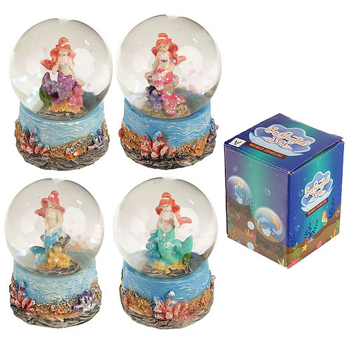 Fun Collectable Mini Mermaid Snow Globe Novelty Gift