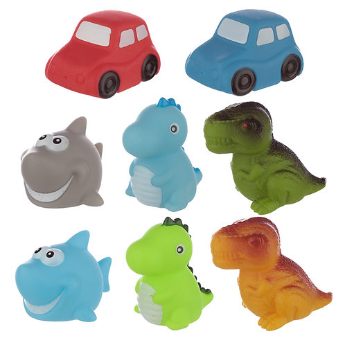 Fun Kids Flashing Floating Bath Time Toy [Pack  of 2] Novelty Gift