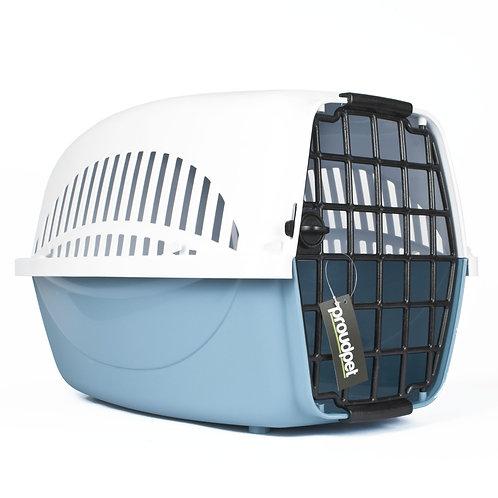 Hard Blue Pet Carrier - Large | Home Essentials UK