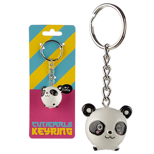 Cute Collectable Panda Keyring Novelty Gift