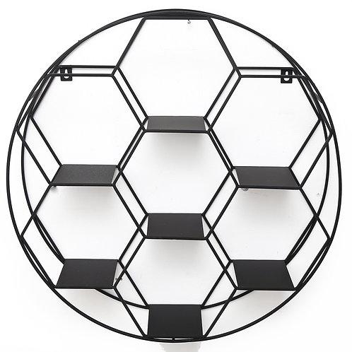 Hexagon Cut Wall Unit 50cm Shipping furniture UK
