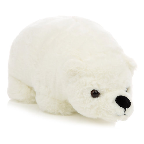 Plush Polar Bear Door Stop Novelty Gift