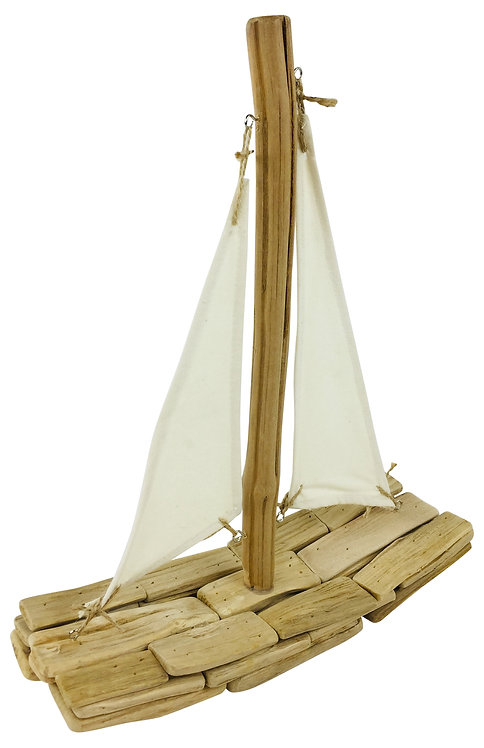 Driftwood Boat Ornament Shipping furniture UK