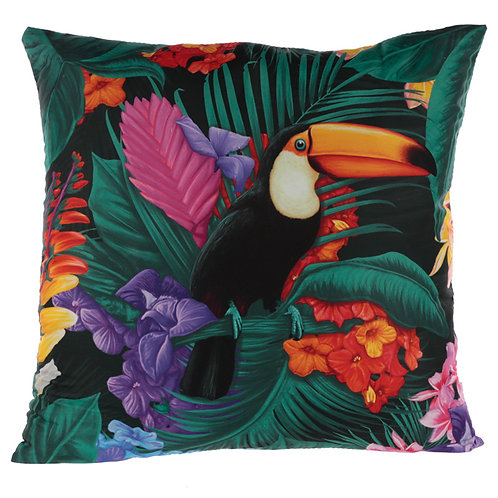Cushion with Insert - Toucan Party Novelty Gift