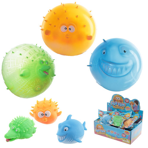 Novelty Gift Fun Kids Sealife Balloon Ball
