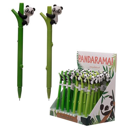 Fun Panda Topper Novelty Pen Novelty Gift [Pack of 2]