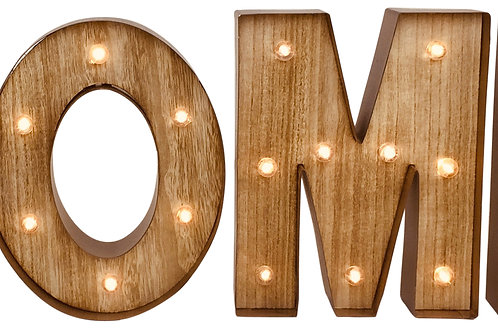 Home Word Letters with LED Lights Shipping furniture UK