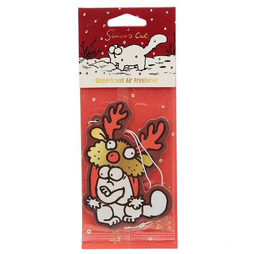 Christmas Simon's Cat Reindeer Hat Gingerbread Air freshener [2] Novelty Gift