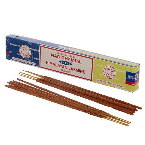 Satya Incense Sticks - Nag Champa & Himalayan Jasmine Novelty Gift