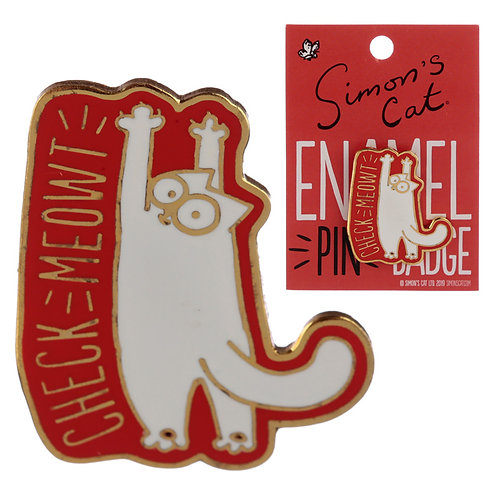 Novelty Simon's Cat Design Enamel Pin Badge Novelty Gift