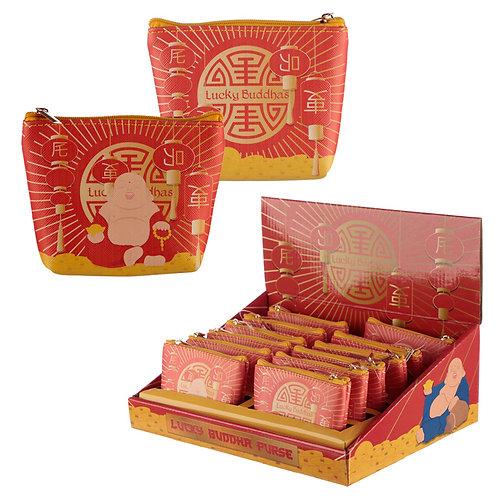 Handy PVC Purse - Lucky Buddha Novelty Gift