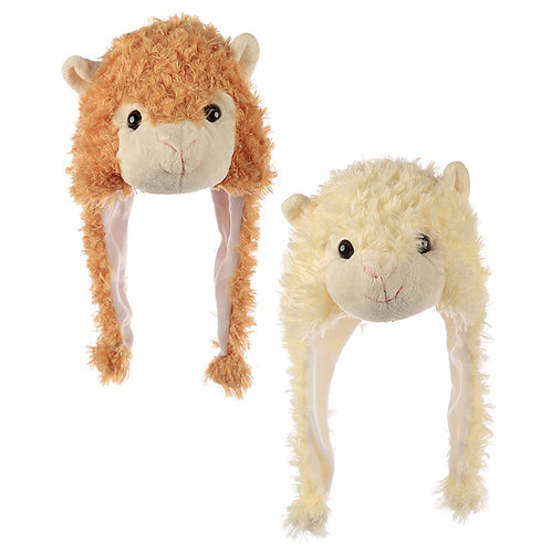 Fun Plush Llama Hat (One Size) Novelty Gift