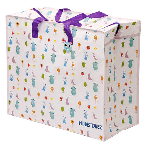 Fun Practical Laundry & Storage Bag - Monsters Novelty Gift