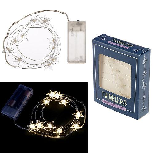 Novelty Gift Decorative LED Light String - Stars