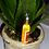 Party Wine Bottle Glass Keyring Keychain Orsnge