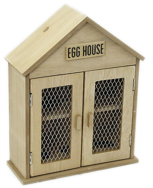 Wooden Two Door Egg House Shipping furniture UK