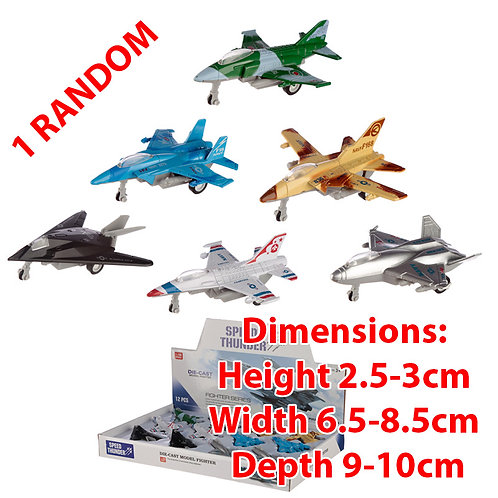 Novelty Back Fighter Jet Plane Toy Gift