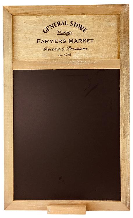 Rustic General Store Blackboard 55cm Shipping furniture UK