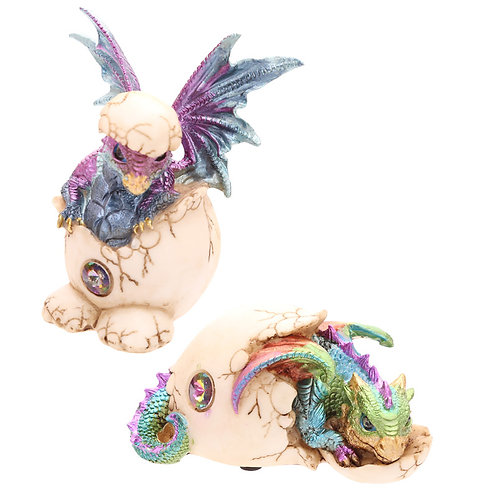 Cute Hatching Baby Dragon Figurine Novelty Gift