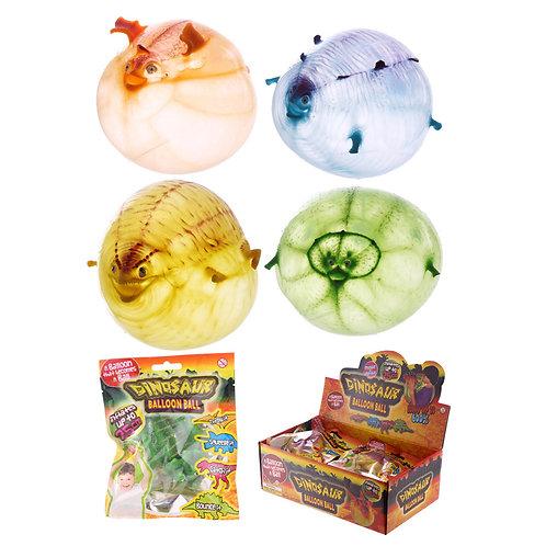 Novelty Gift Fun Kids Dinosaur Balloon Toy