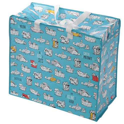 Fun Practical Laundry & Storage Bag - Simon's Cat Design Novelty Gift