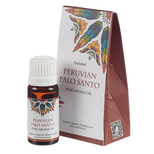Goloka Fragrance Aroma Oils - Peruvian Palo Santo Novelty Gift