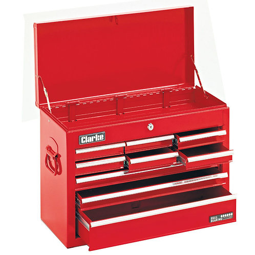 Clarke CTC900B Mechanics Steel 9 Drawer Tool Chest | DIY Bargains