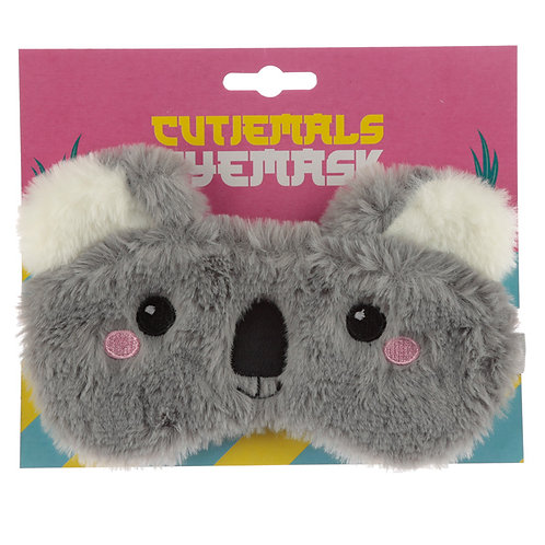 Fun Eye Mask - Plush Cutiemals Koala Novelty Gift