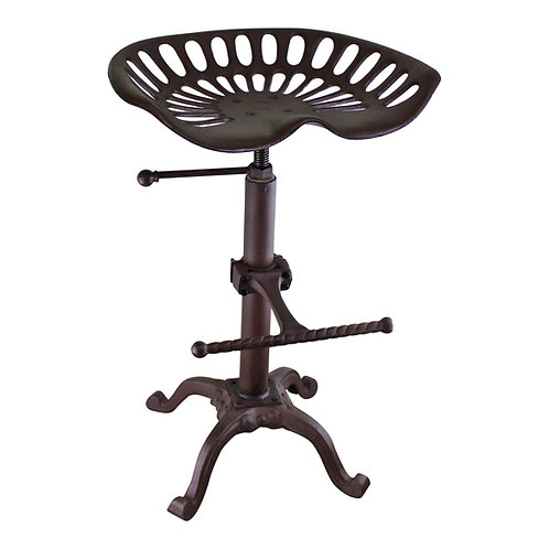 Cast Iron Tractor Seat Kitchen/Bar Stool Shipping furniture UK