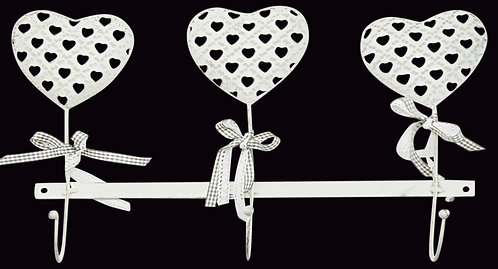 Heart Design Wall Heart Hooks Shipping furniture UK