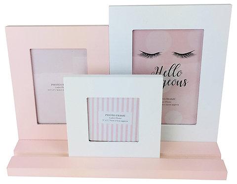 Eyelash Pink 3 Frames On Tray Shipping furniture UK