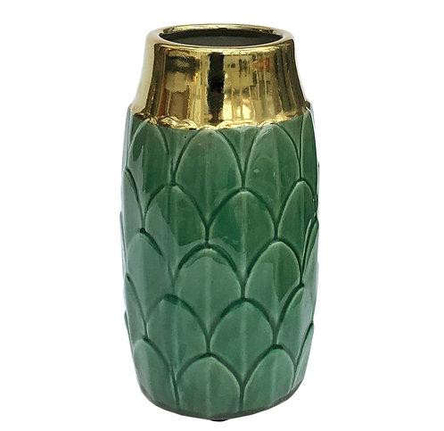 Art Deco Vase – Green Shipping furniture UK