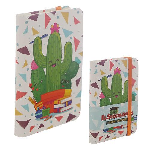 A6 Collectable Hardback Notebook - Cactus Design Novelty Gift