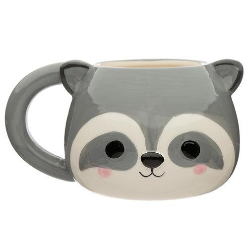 Cute Racoon Cutiemals Ceramic Mug Novelty Gift