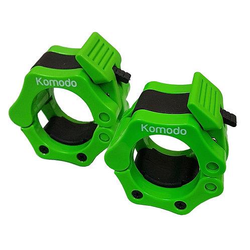 Komodo 2 Inch Spring Bar Collar - Green   Home Essentials UK