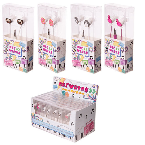 Novelty Gift Funky Headphones - Mixed Designs