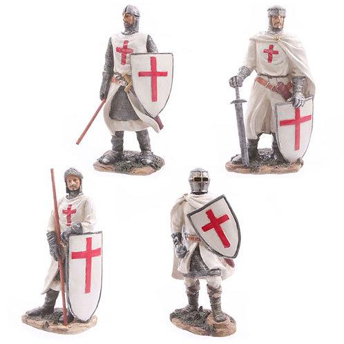 Battle Ready Novelty Crusader Knight Figurine Novelty Gift