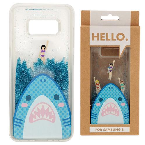 Samsung 8 Phone Case - Shark Jaws Design Novelty Gift