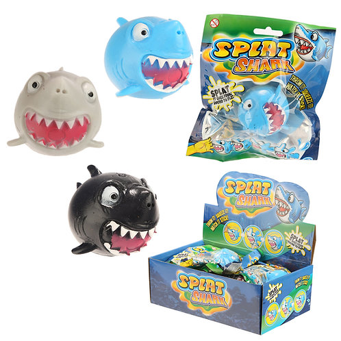 Fun Kids Splat Shark Ball Novelty Gift