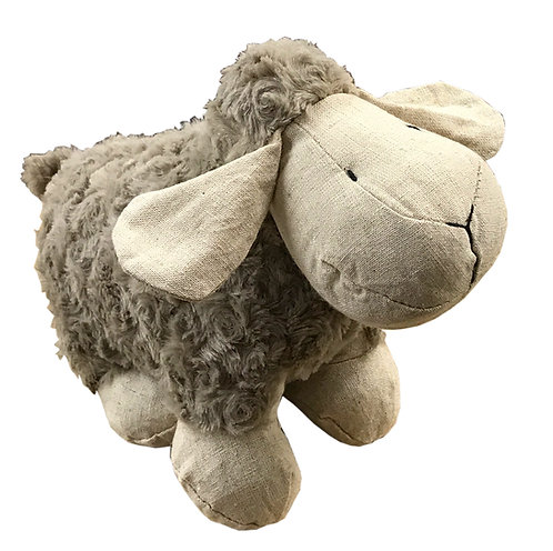Sheep Doorstop - Brown Shipping furniture UK