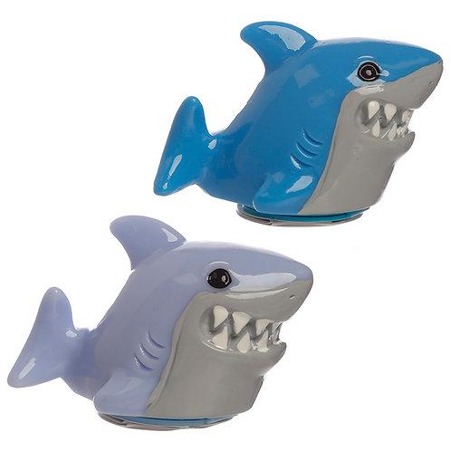 Funky Lip Balm - Shark Cafe Shaped Holder Novelty Gift
