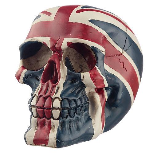 Novelty Union Flag Skull Ornament Novelty Gift