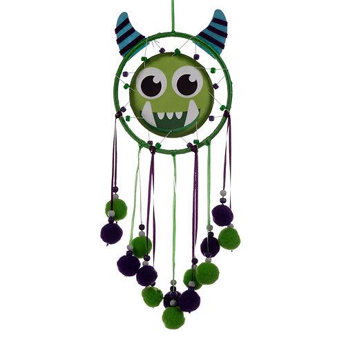 Cute Fun Green Monster Monstarz Dreamcatcher Novelty Gift