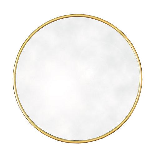 Round Gold Mirror Shipping furniture UK