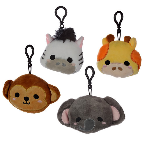 Plush Cutiemals Keyring [ONE ONLY] Novelty Gift
