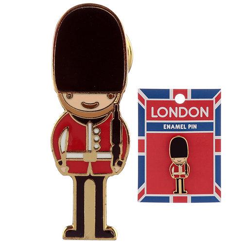 Novelty London Guardsman Design Enamel Pin Badge Novelty Gift