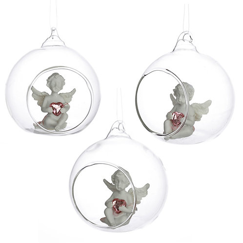 Collectable Cherub - Sweet Dream Glass Bauble [ONE ONLY] Novelty Gift