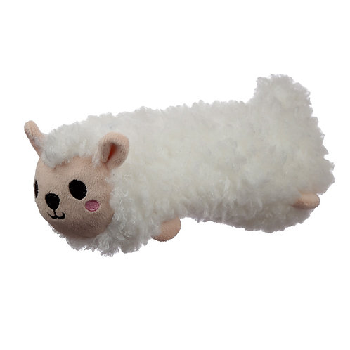 Fluffy Plush Pencil Case - Sheep Novelty Gift [Pack of 2]